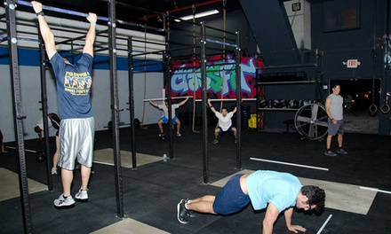 $49 for One Month of Unlimited Boot Camp at CrossFit Wynwood ($160 Value)
