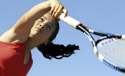 Two Private Tennis Lessons or Four Drill Sessions or Beginner Women&#x27;s Classes at The Surma Sports Group (Up to 57% Off)