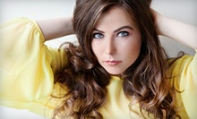Haircut, Conditioning, and Style with Optional Partial or Full Highlights from Joanie at Studio Salon (Up to 57% Off)