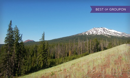 groupon daily deal - Stay at Seventh Mountain Resort in Bend, OR. Dates into May.