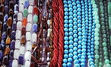Two-Hour Beading Class for One or Two or $10 for $20 Worth of Beads and Supplies at Beads and Beyond