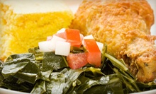 Soul-Food Dinner for One or Two or $50 for $100 Worth of Catering at Soul Terrific