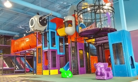 2 Groupons, Each Good for 1 Open Jump for 2 or 4 at Planet Fun Indoor Playground and Party Centre (50% Off)