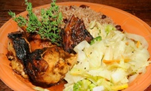 Caribbean Meal for Two or Four at Chef Rob's Caribbean Caf (53% Off)
