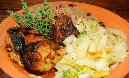 Caribbean Meal for Two or Four at Chef Rob's Caribbean Café (53% Off)