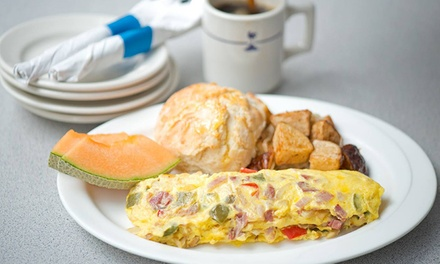 Southern Breakfast or Dinner at Wishbone (Up to 50% Off). Four Options Available.