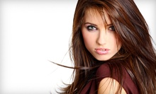 Women's Cut and Style With Deep-Conditioning Treatment or Partial Highlights from Sandra at Stacey'z Salon (59% Off)