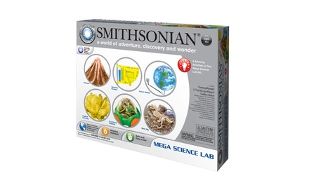 Smithsonian Mega Science Lab Kit with Seven Activities