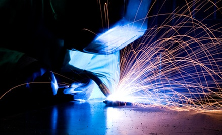 90-Minute Abstract Welding Sculpture Class for One or Two at Working Art (Up to 59% Off)