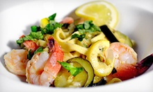Bistro-Style Italian Cuisine and Drinks at Tannins Restaurant and Wine Bar (Up to 51% Off). Two Options Available.