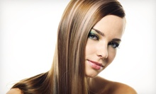 Color Retouch or Haircut, Style, and Conditioning with Partial or Full Highlights at Beauty 101 (Up to 57% Off)