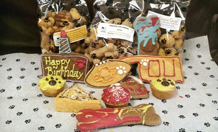 $5 for $10 Worth of Baked Pet Treats at Barking Dog Bakery