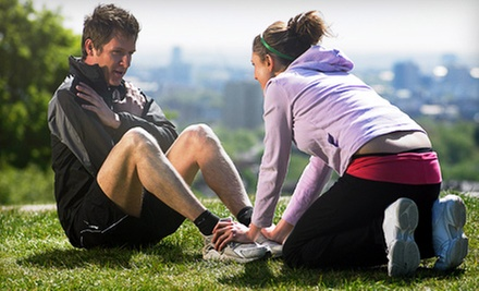 Three Outdoor Personal-Training Sessions for One or Two at For U Fitness (Up to 73% Off)