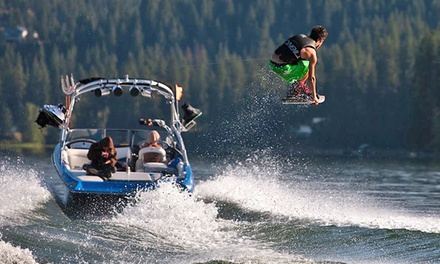 Two-Hour Wake-Surfing Lesson or Two-Hour Water-Skiing Rental Package at Hayden Wake (40% Off)