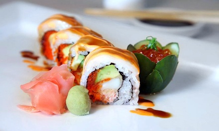 $38 for $60 Worth of Sushi, Japanese Cuisine, and Drinks at Drunken Fish