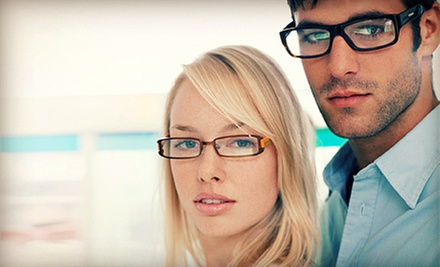 $50 for $200 Worth of Prescription Lenses, Frames, and Sunglasses at Eye Design Eyewear