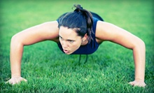 Three-Week Outdoor PowerFit Yoga or Fitness Boot Camp at Fitness For Living Boot Camps (Up to 67% Off)