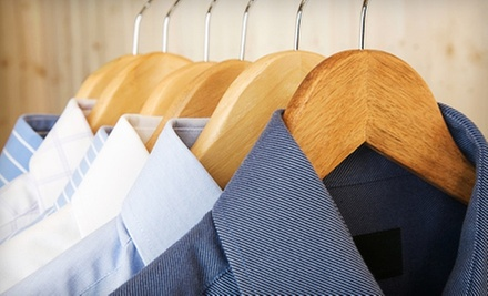 $15 for $30 Worth of Dry-Cleaning Services at Houdini&#x27;s Cleaners. Two Locations Available.