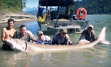 Sturgeon- or Salmon-Fishing Trip for Two or Four from Len's Sportfishing Adventures (55% Off)