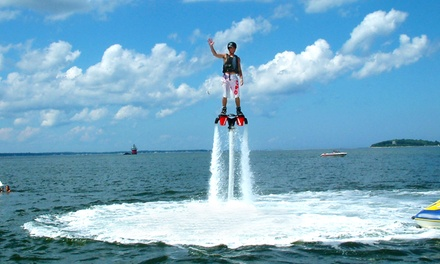One-Hour Flyboarding Experience for Two or Three at Plymouth Watersport (Up to 42% Off)