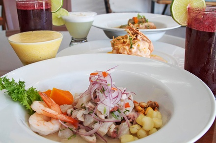Peruvian Cuisine at Ceviche Street (Up to 43% Off). Three Options Available.