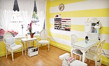 One or Two Salty Lemon Intense Therapy Mani-Pedis at Limon Nail & Spa Boutique (48% Off)