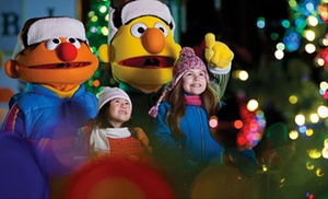 $25 for Single-Day Ticket to A Very Furry Christmas at Sesame Place ($37 Value)