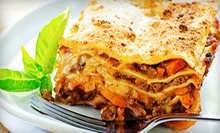 $10 for $20 Worth of Italian Cuisine at Bellissimo Ristorante