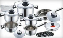 $199 for a 17-Piece Kochtopfhaus Germany Cookware Set from New Classic ($473.47 Value)