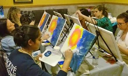 Adult Painting Class for One or Two from Paint Tyme (Up to 59% Off)
