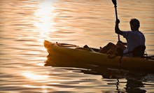 Two-Hour Rental of a Single or Double Kayak from Marina Paddle (Half Off)