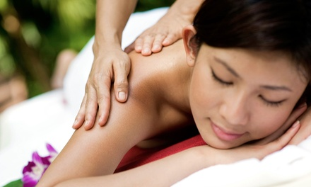 50-Minute Massage, 50-Minute Reflexology Session, or Both at Far East Wellness (Up to 50% Off)