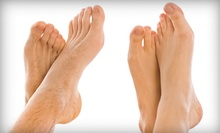 Laser Toenail-Fungus-Removal Treatment for One or Both Feet at Your Total Foot Care Specialist (Up to 70% Off)