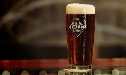 Steal the Glass Package for Two or Four With Beers and Souvenir Glasses at Dale Bros Brewery (42% Off)