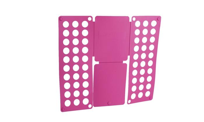 Shirt folding board target