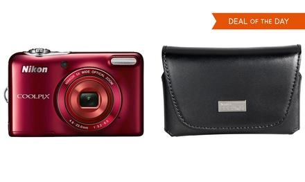 Nikon Coolpix L30 20.1MP Digital Camera