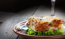 $20 for an Italian Meal for Two at Mamma Mia NY Pizza (Up to $41 Value)