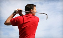 9 or 18 Holes of Golf for Two or Four with Range Balls at Milt's Golf Center (Up to 55% Off)