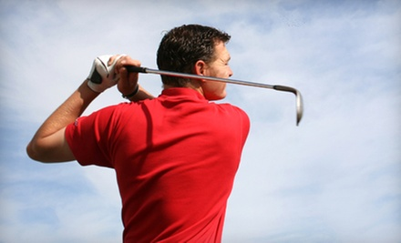 9 or 18 Holes of Golf for Two or Four with Range Balls at Milts Golf Center (Up to 55% Off)