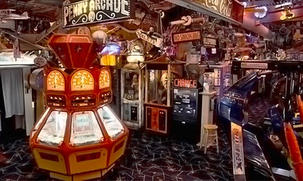 Arcade Outing for Two, Four, or Six, or Party for 10 at Marvin's Marvelous Mechanical Museum (Up to 39% Off)
