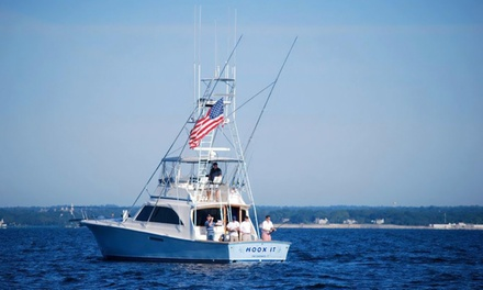 $499 for a Half-Day Fishing Trip with Gear and Bait from Hoox It Charters ($1,250 Value)