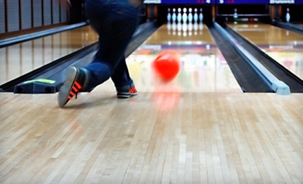 Two-Hours of Bowling for Four with Shoe Rental, Soda, and Popcorn at Triad Lanes and Tar Heel Lanes (Up to 53% Off)