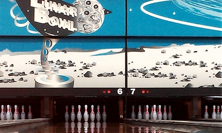 Two Hours of Bowling for Up to Six or Three Hours of Cosmic Bowling for Up to Four at Lunar Bowl (Up to 51% Off)