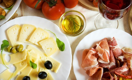 Wine Flights with Cheese or Charcuterie for Two or Four at Sunfish Cellars Wine Bar (Up to 58% Off)