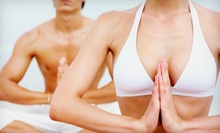 10 or 15 Power Yoga Classes at Moksha Spa &amp; Wellness Center (Up to 73% Off)