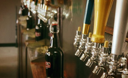$20 for Two 64-Ounce Growlers Filled with Craft Beer at J.U.G.S (Up to $76.96 Value)