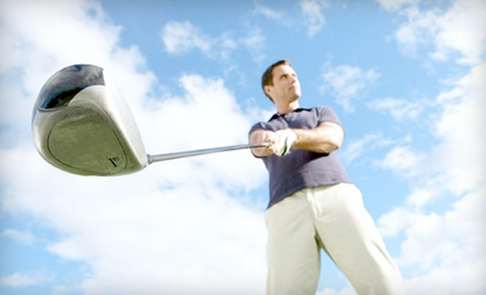 $44 for a Golf Outing for Two with Cart Rental and Beer at Hail Ridge Golf Course (Up to $92 Value)