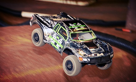 $20 for One Hour of Remote-Control Racing for Two at Basher's RC Raceway ($40 Value)