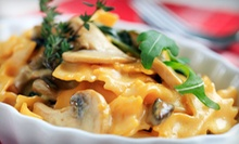 Italian Cuisine for Two or Four at Rudy's Italian Restaurant & Bar (Up to 56% Off)