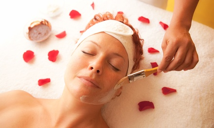 Cherry-Chocolate-Rose Peel or Vitamin C Firming Facial with Micropolish at Aesthetics by Eva Renee (45% Off)